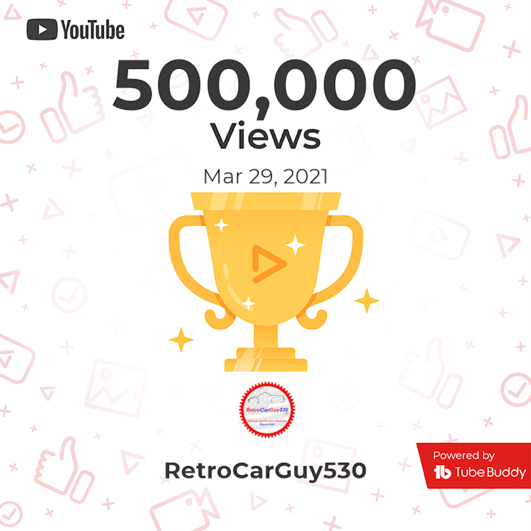 500K Views Milestone
